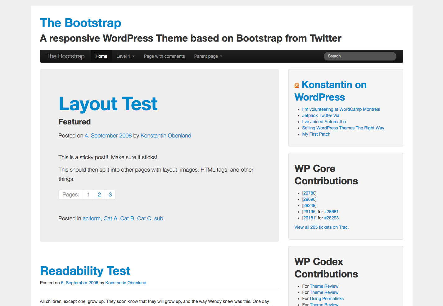 The ultimate guide to bootstrap webdesigner depot bootstrapwp is a solid base for custom wordpress theme development based on bootstrap falaconquin