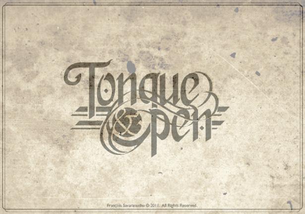 Inspiring calligraphy works webdesigner depot