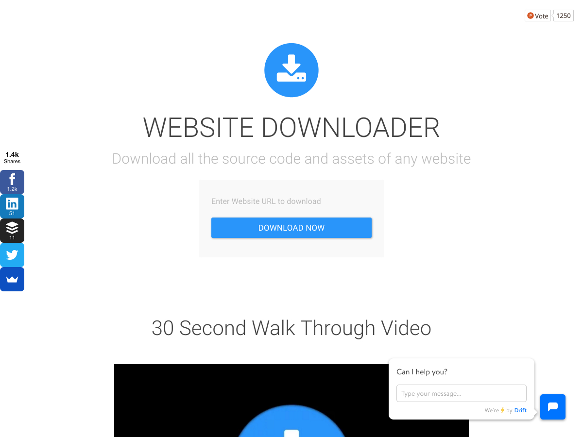 website downloader