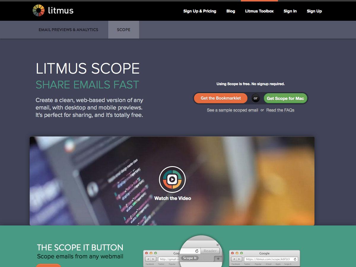 Litmus Scope