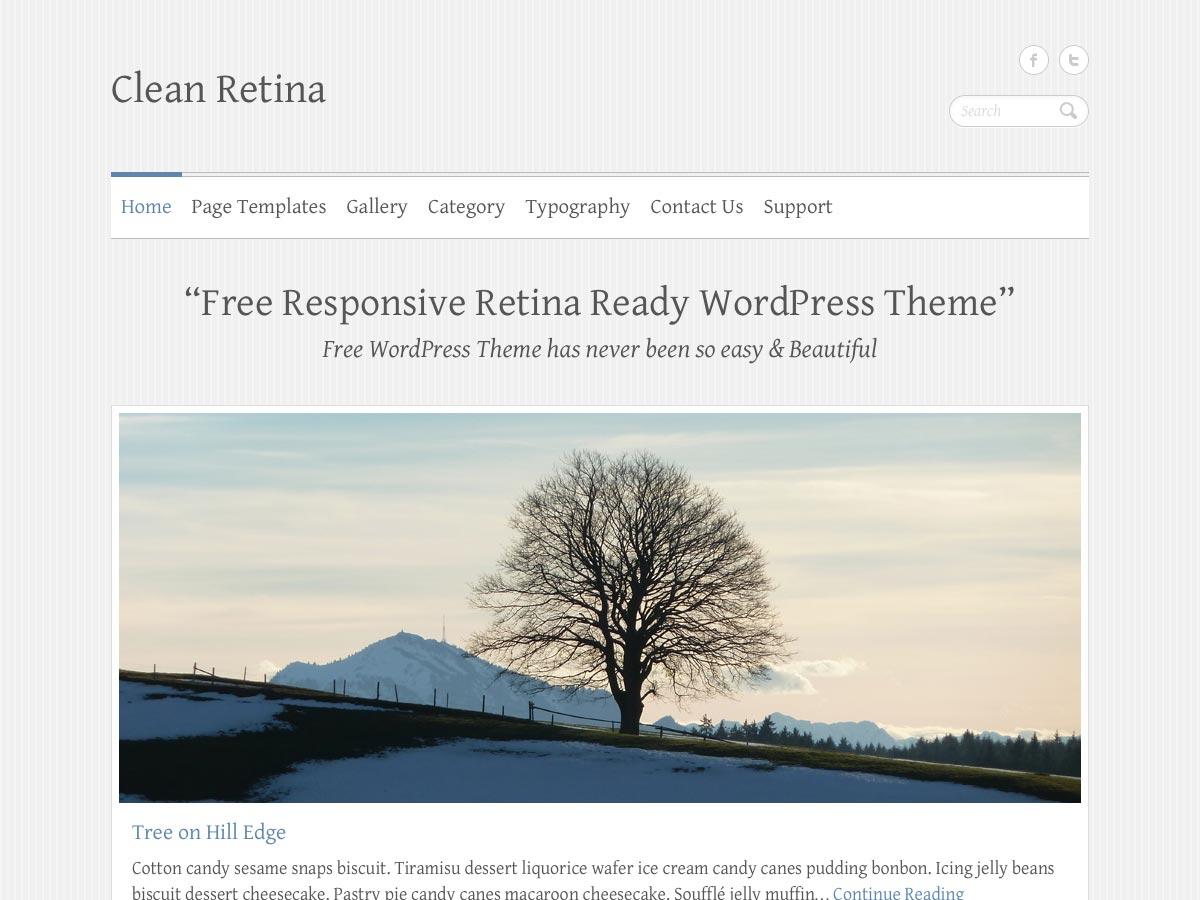 clean retina