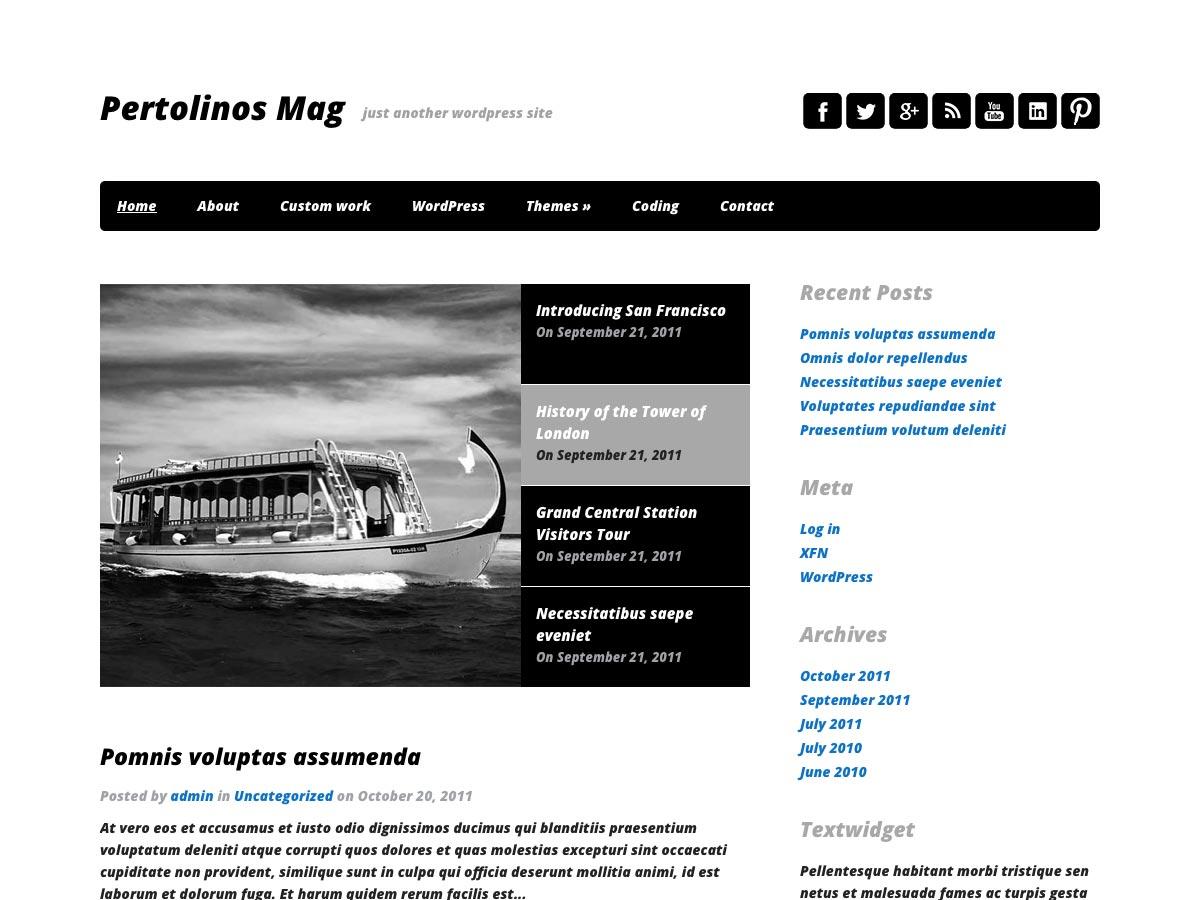 80 awesome new WordPress themes | Webdesigner Depot