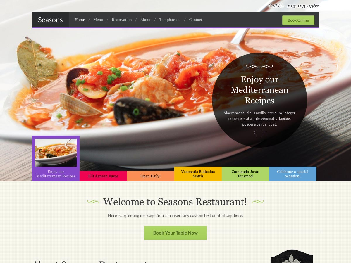 80 awesome new wordpress themes webdesigner depot seasons forumfinder Image collections