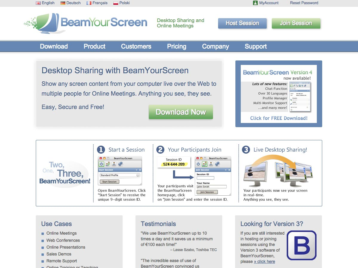 beamyourscreen