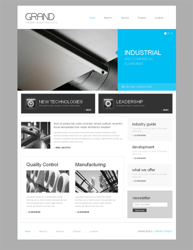 High quality WordPress templates from TemplateMonster.com ...