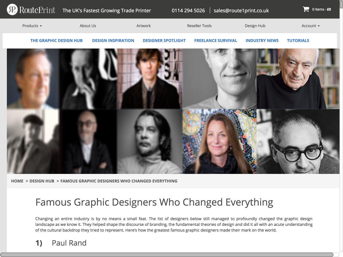 20 Famous Graphic Designers And How They Impacted The World