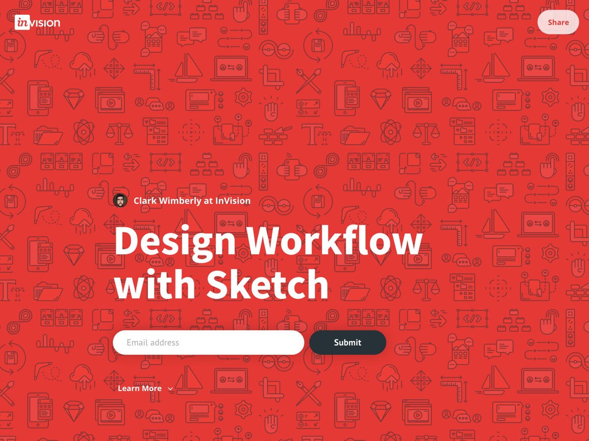 Design Workflow with Sketch