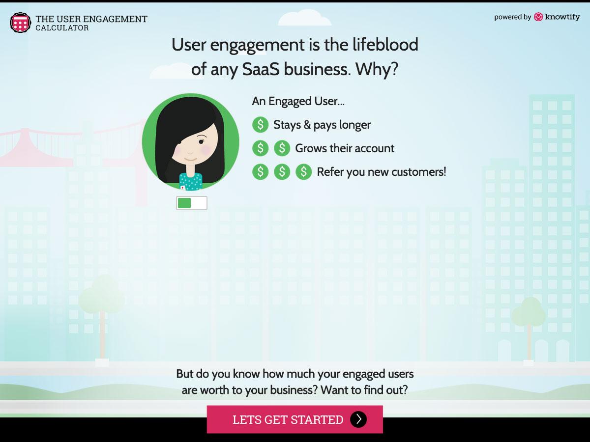 user engagement calculator