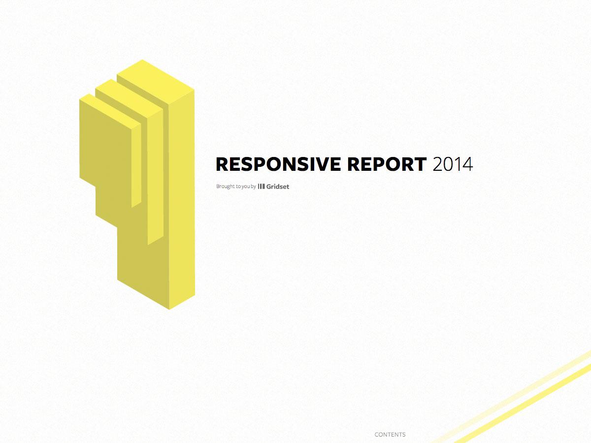 responsive report 2014