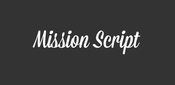 mission script