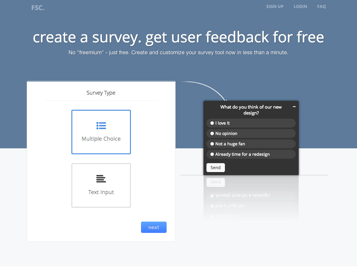 free survey creator