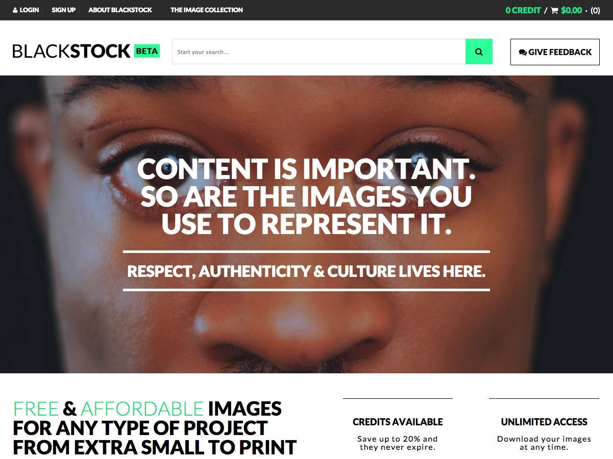 black stock