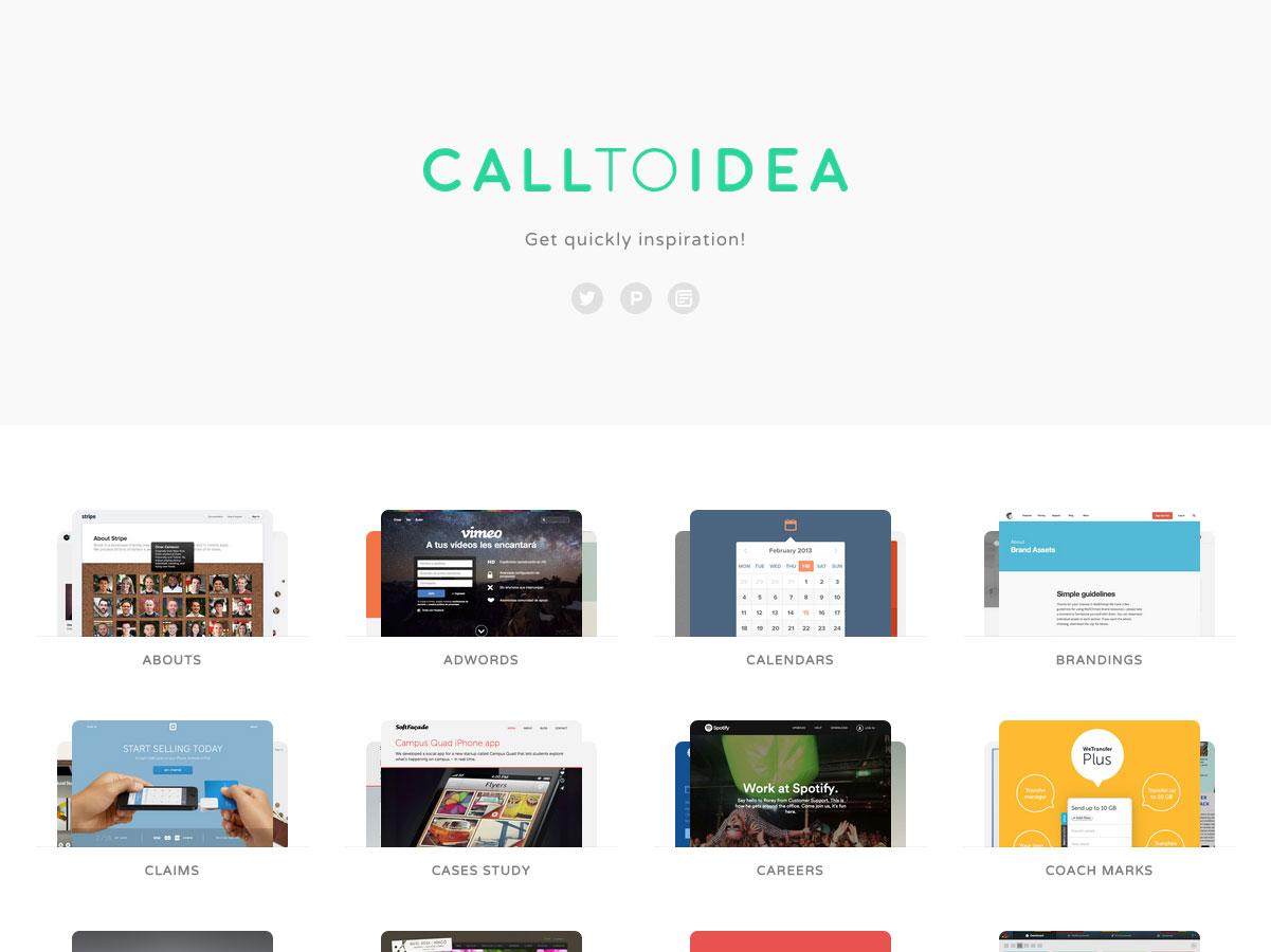 call to idea