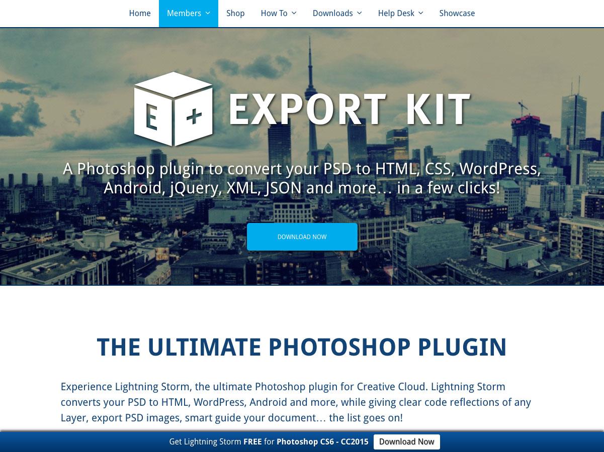 export kit
