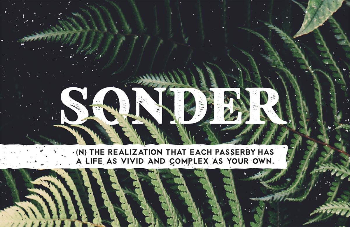 sonder