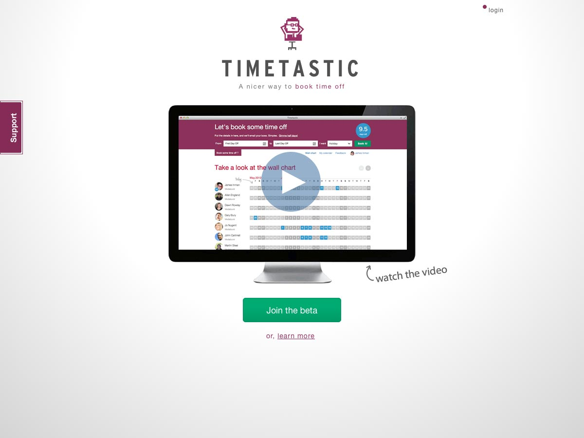 timetastic