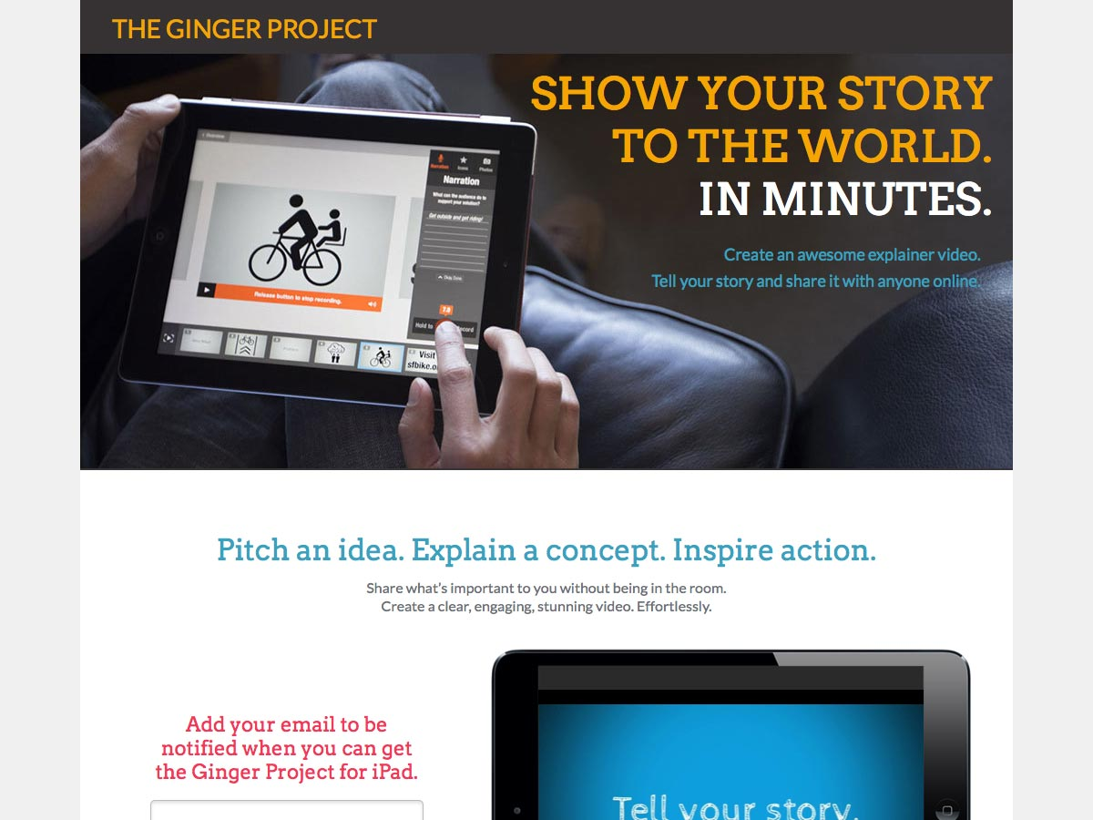 ginger project