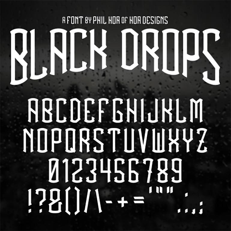 blackdrops