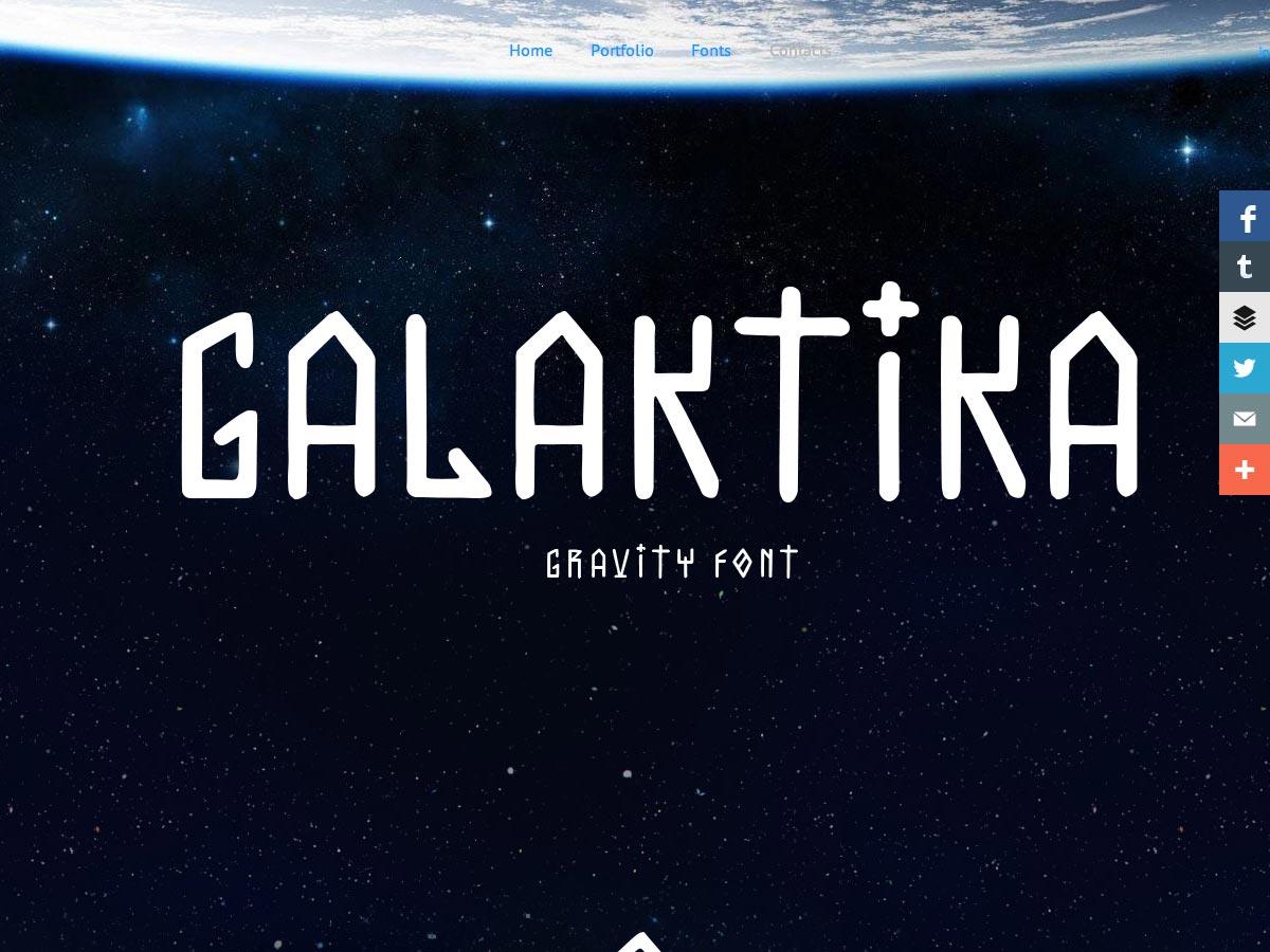 galaktika gravity