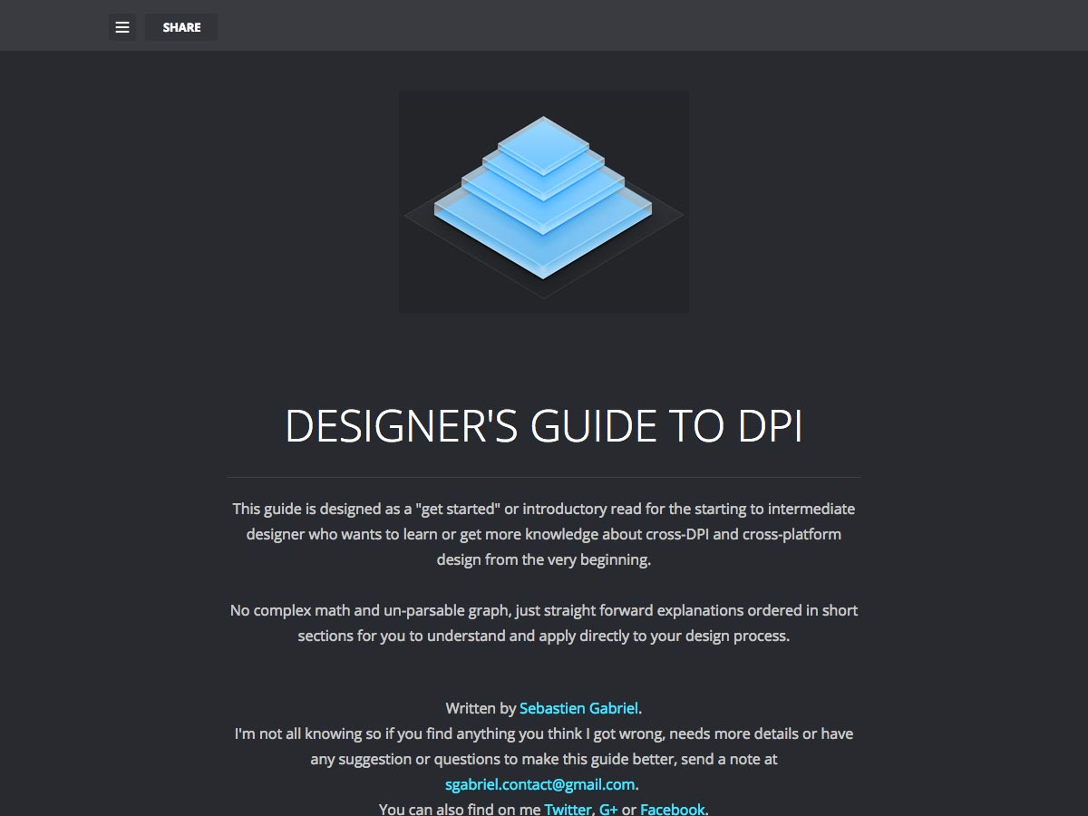 designer's guide to dpi