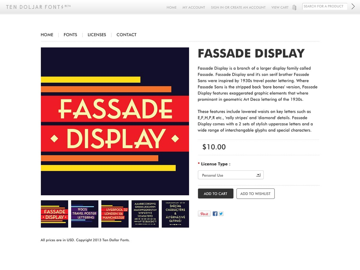 fassade display