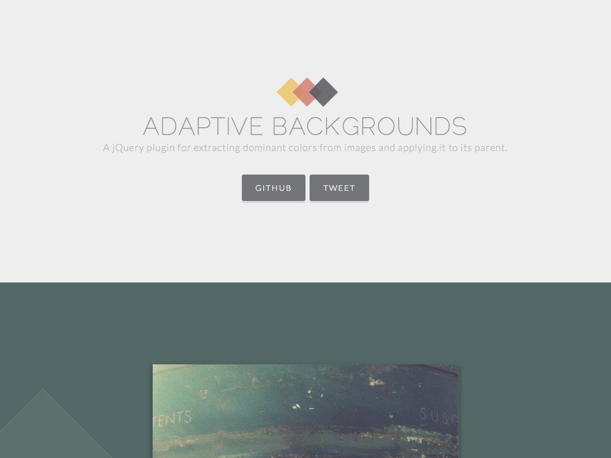adaptive backgrounds