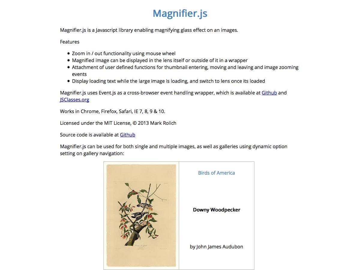 magnifier.js