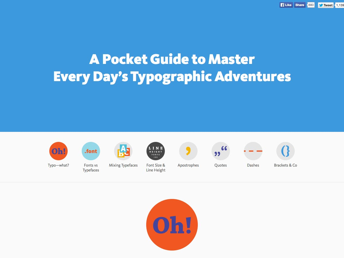 typographic adventures