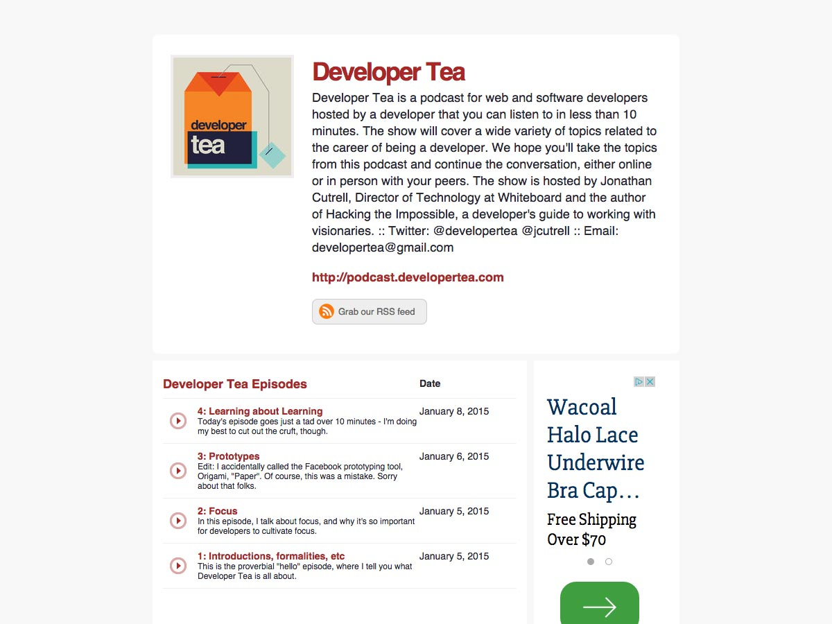 developer tea