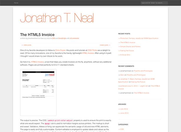 html5 invoice