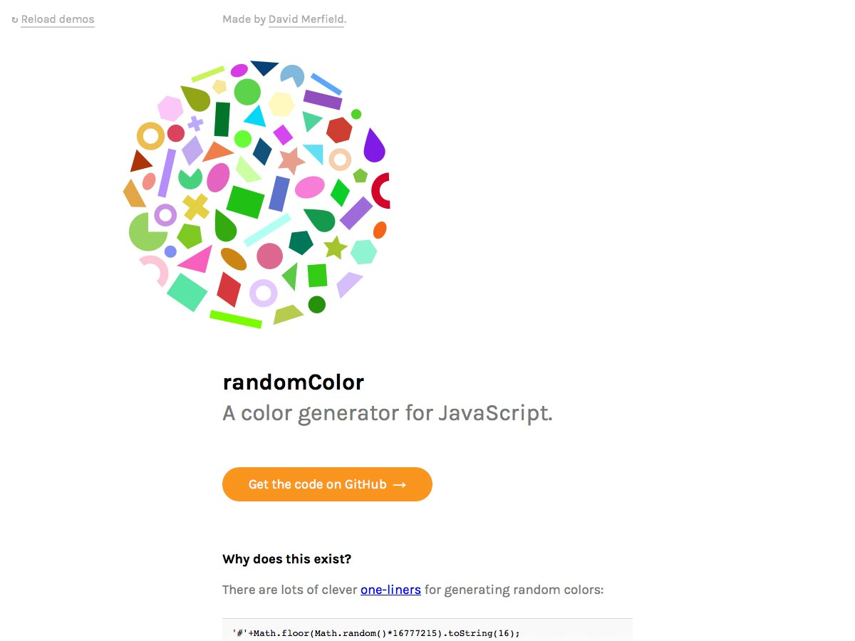 randomcolor