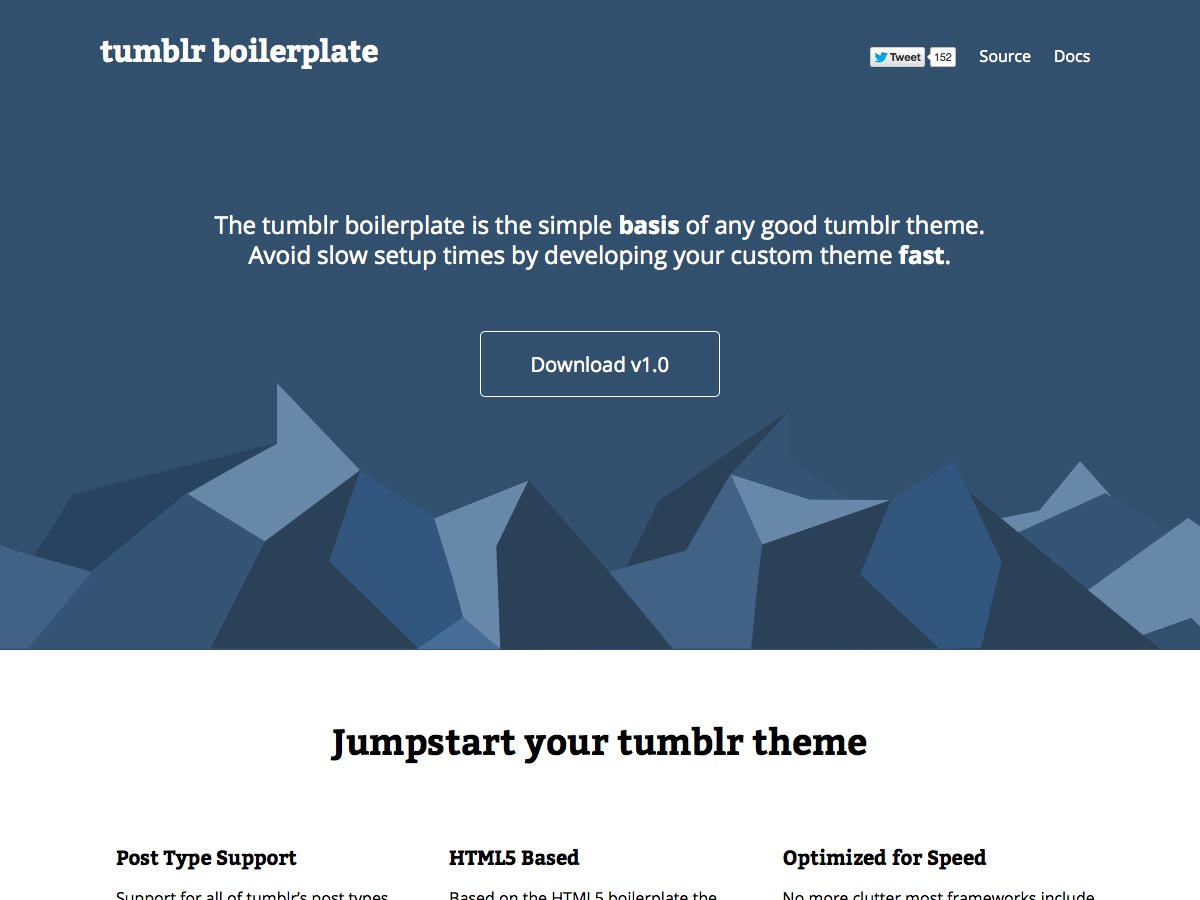 tumblr boilerplate