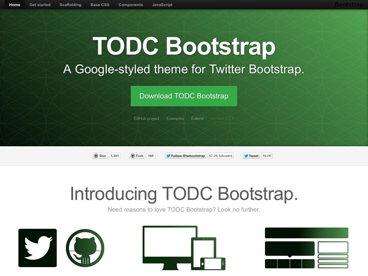 todc bootstrap