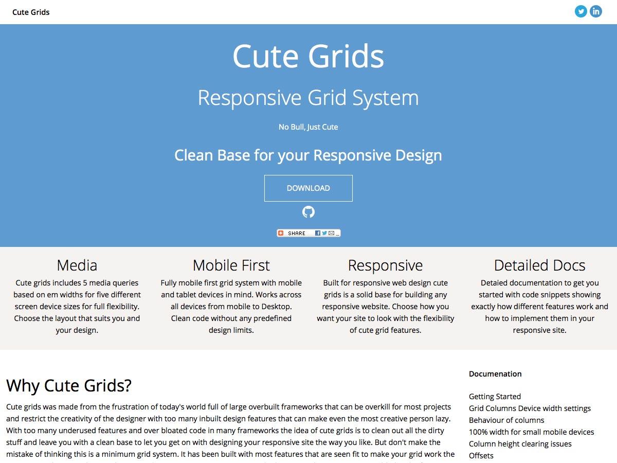 cute grids