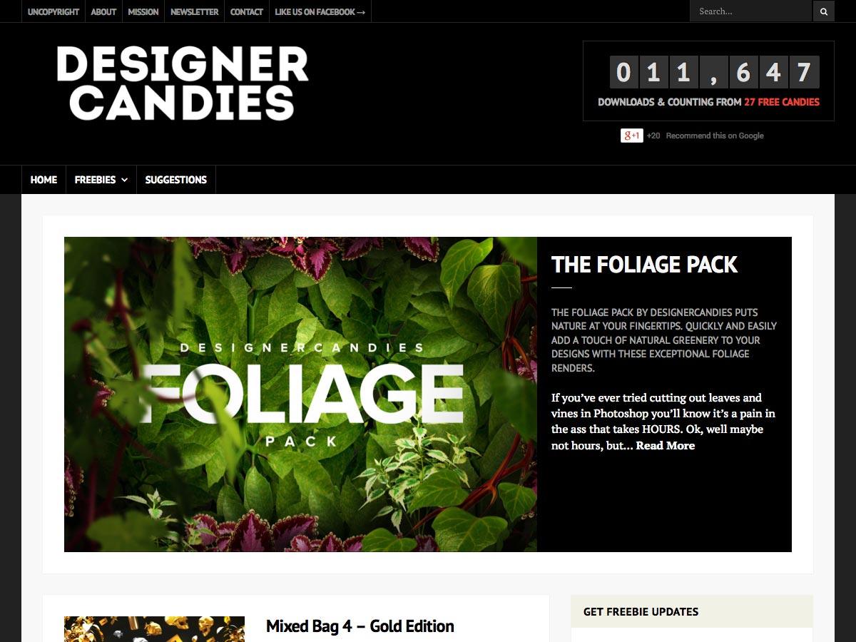 designer candies
