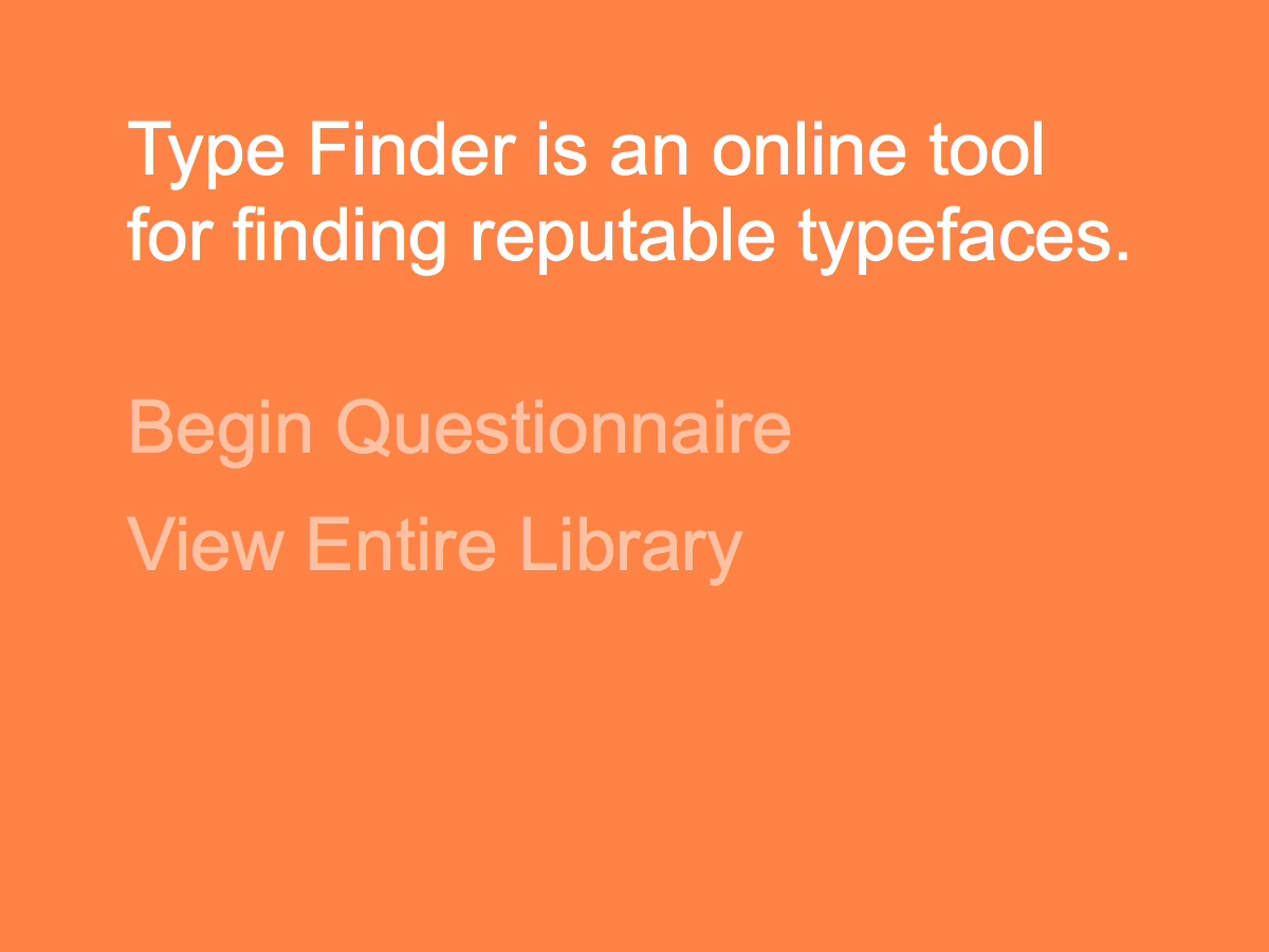 type finder