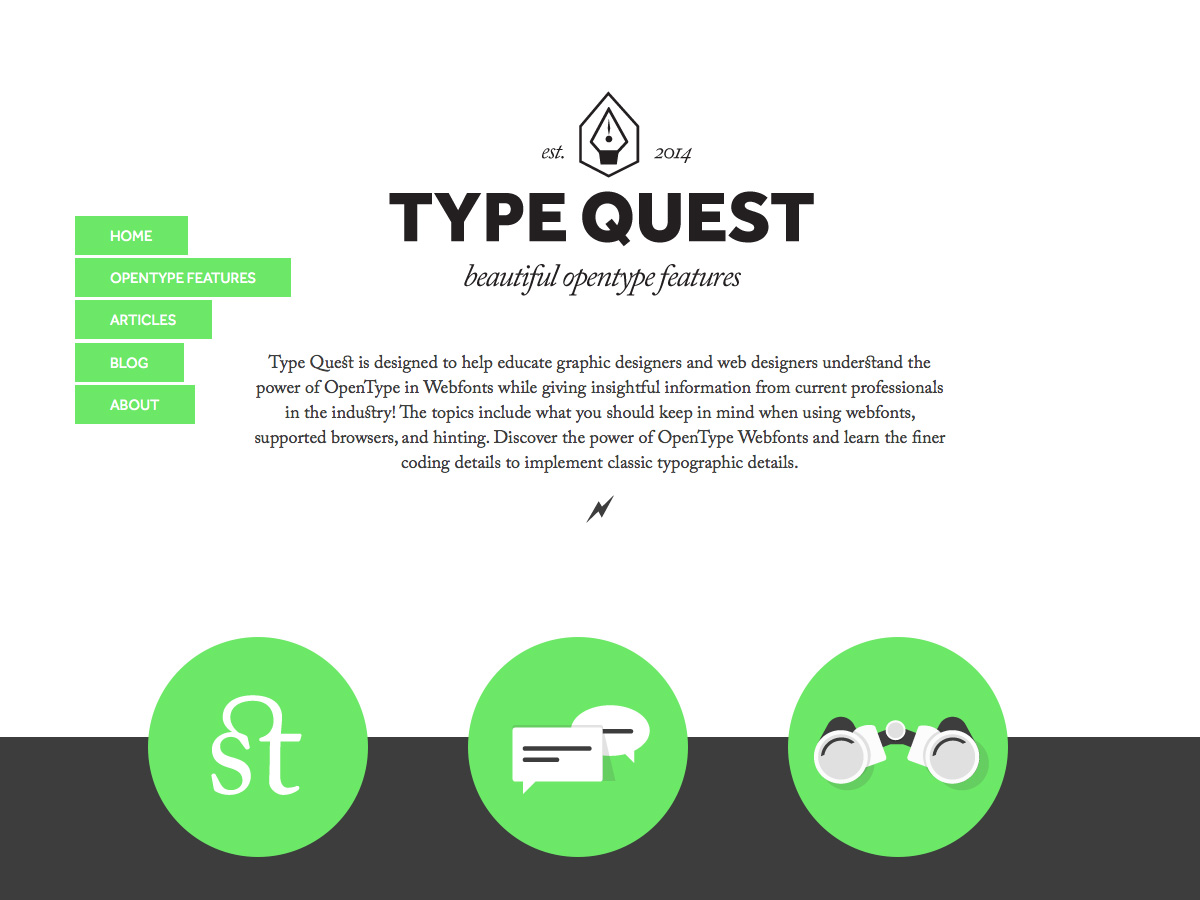 type quest