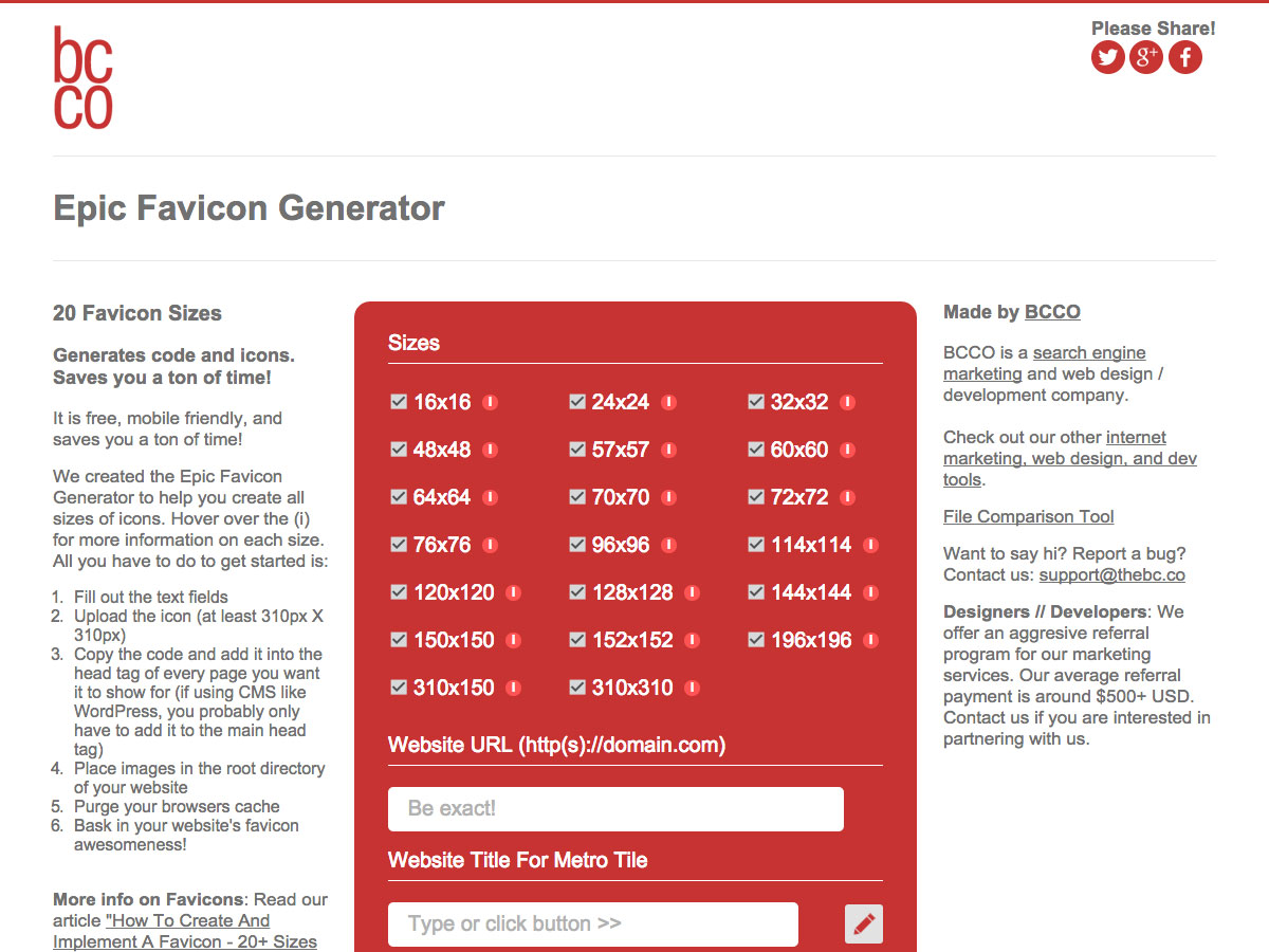 epic favicon generator