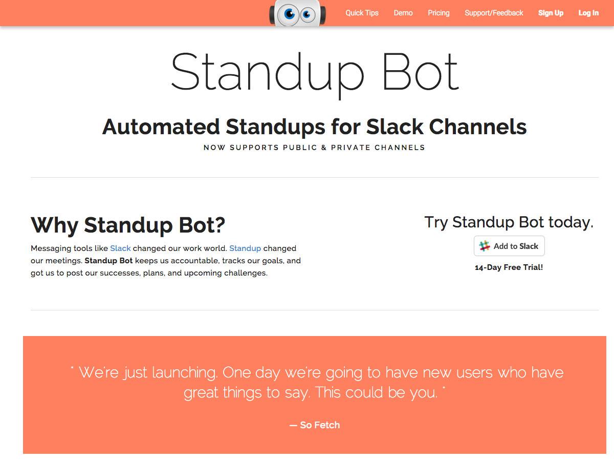 standup bot