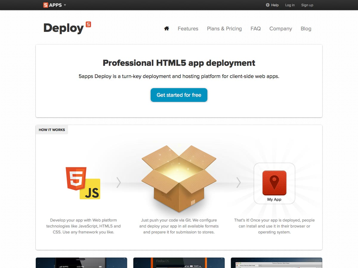 5apps deploy