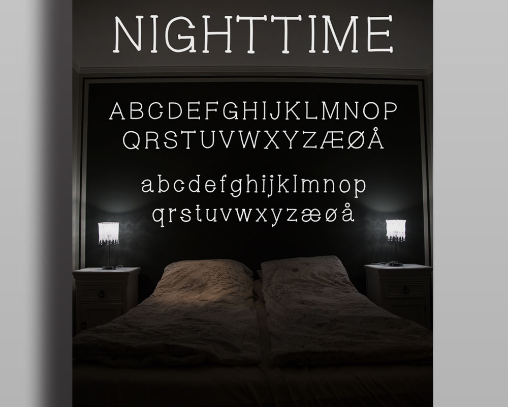 nighttime after midnight