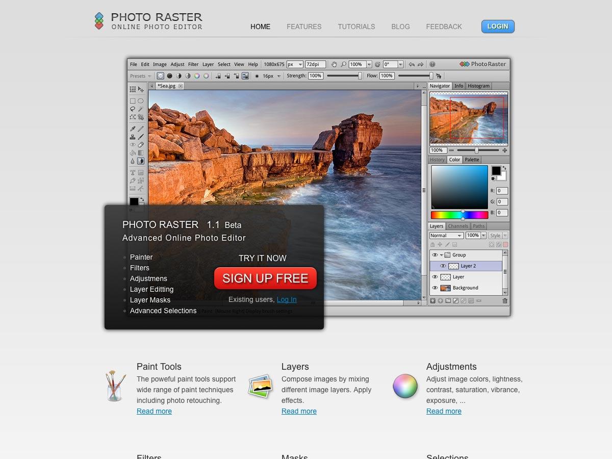 photo raster
