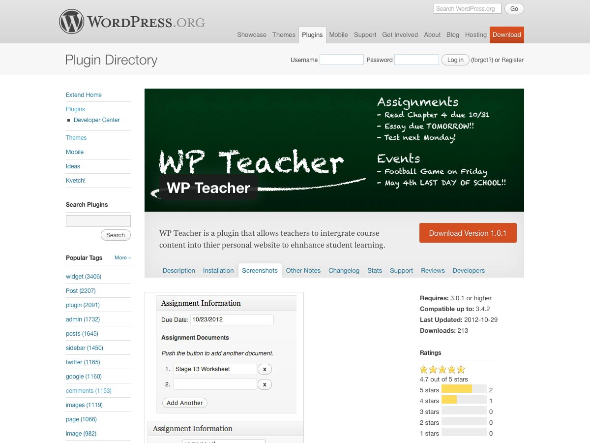 wp teacher