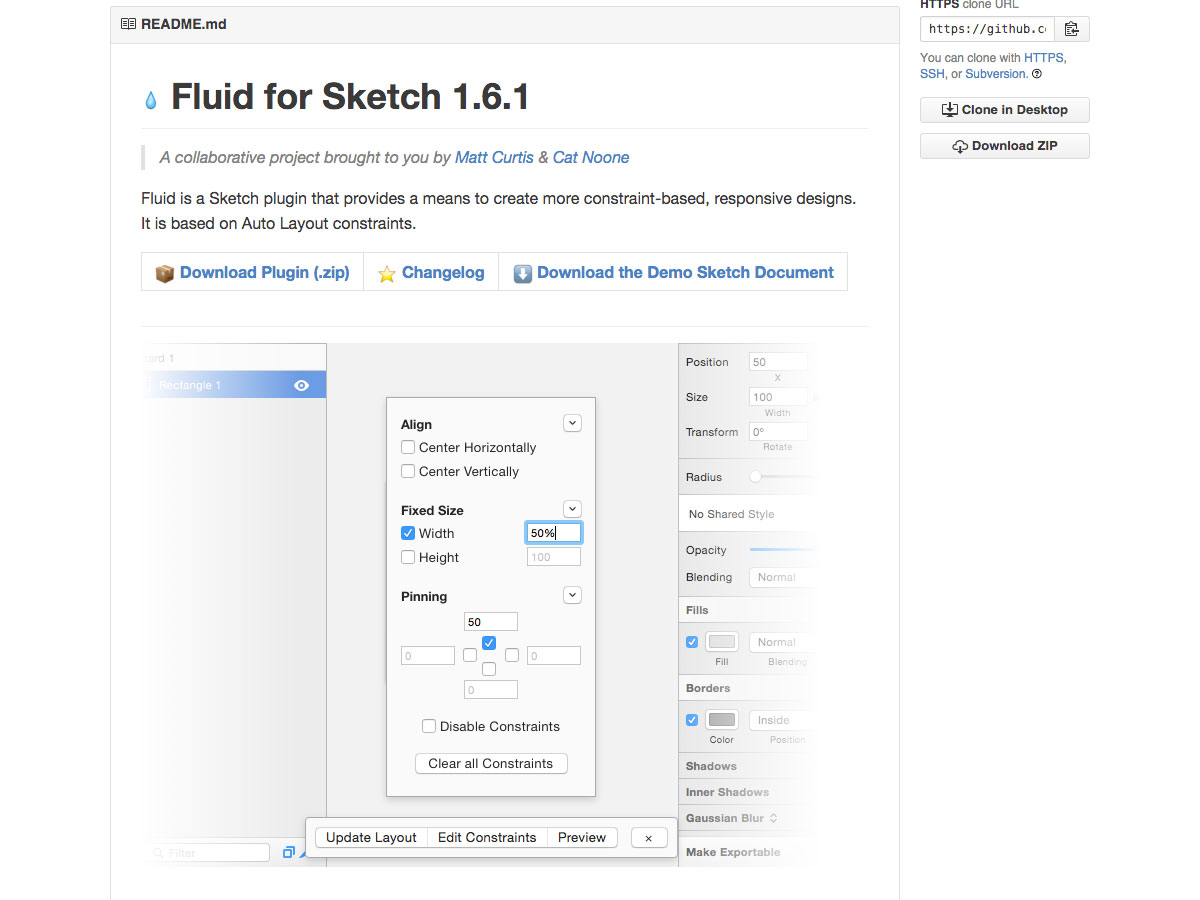fluid for sketch