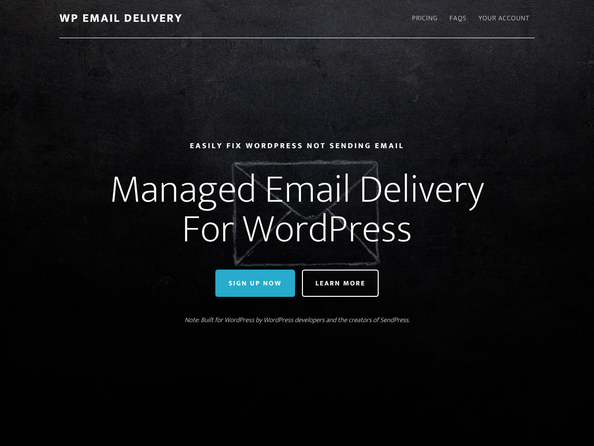 wp email delivery