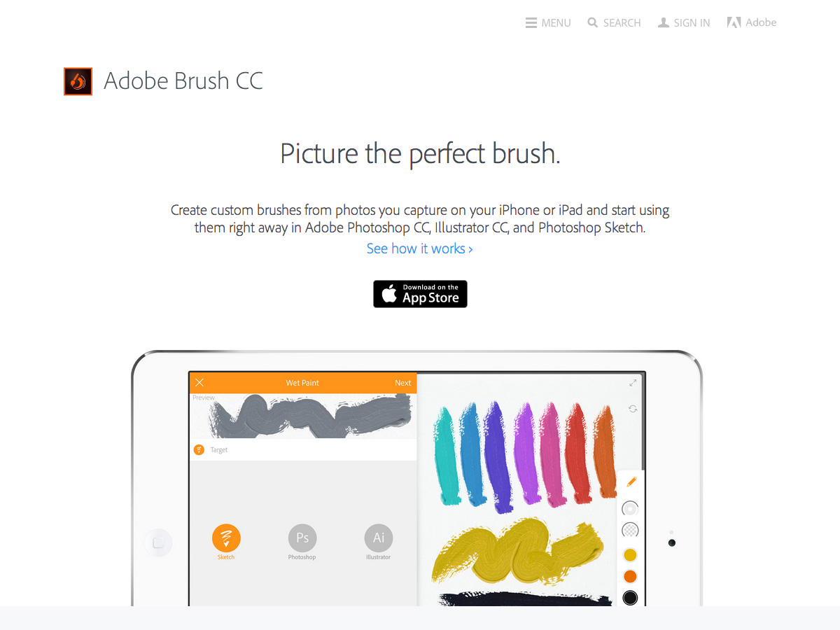 adobe brush cc