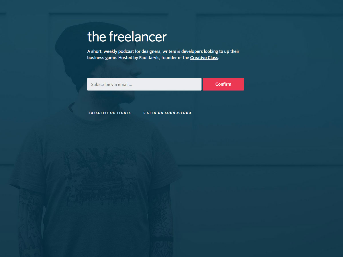 freelancer podcast