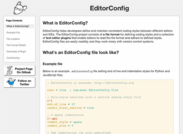 EditorConfig