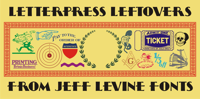 letterpress leftovers