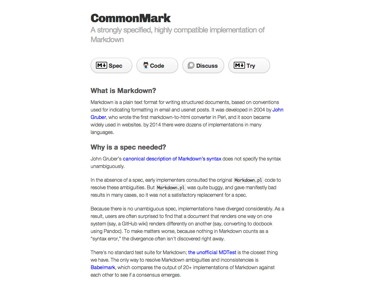 commonmark